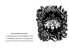 Christmas Card Menu
